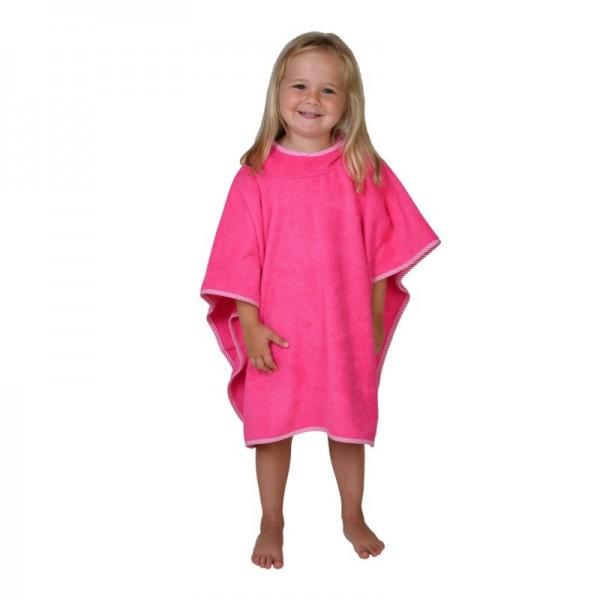 Poncho, pink