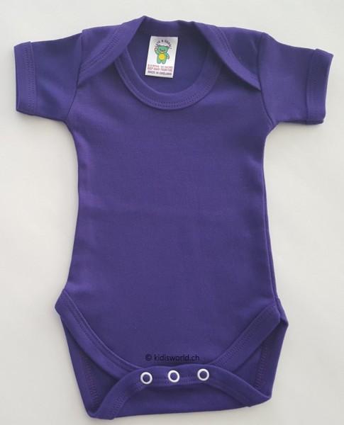 Baby Body violett, kurz-/langarm