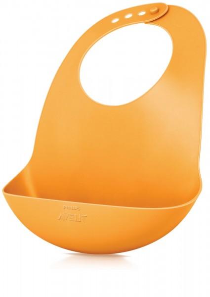 Fütterlätzchen orange