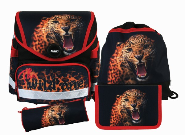 "Funny-Bag Set 4-teilig ""The wild one"""