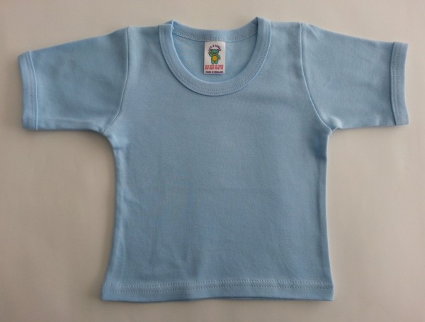 Shirt, hellblau