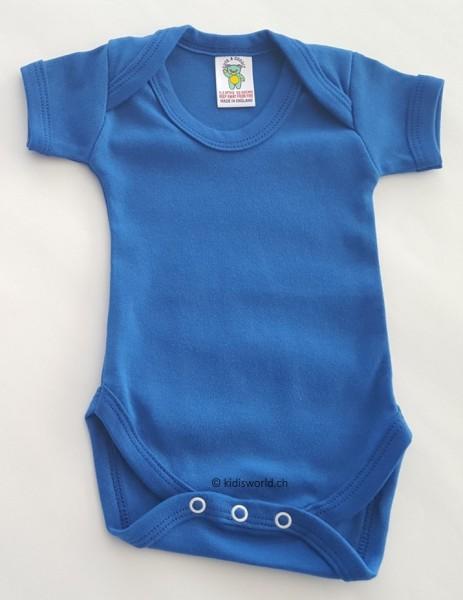 Baby Body royalblau, kurz-/langarm