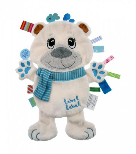 Label Friends Schmusetuch Eisbär