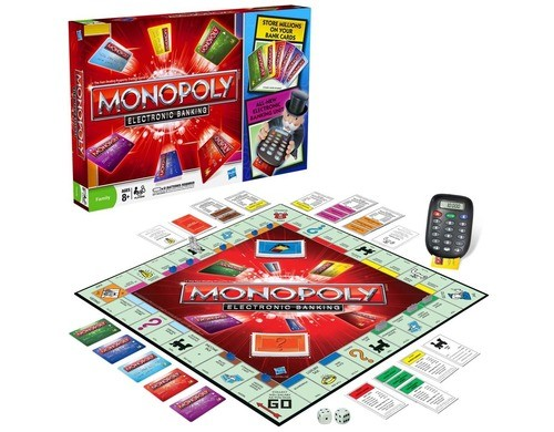 Monopoly Banking - Swiss Edition