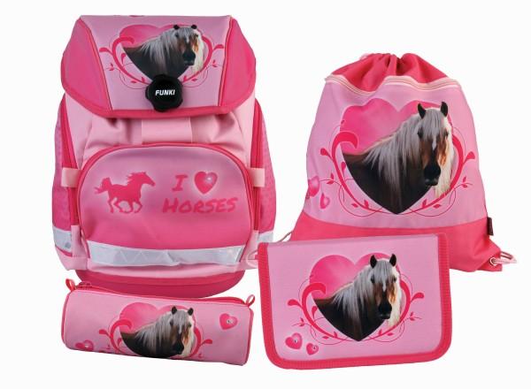 """Joy-Bag Set 4-teilig """"Horses"""""""