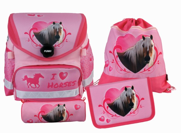 "Funny-Bag Set 4-teilig ""Horses"""