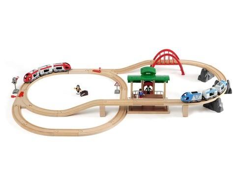 BRIO grosses Bahn Reisezug Set